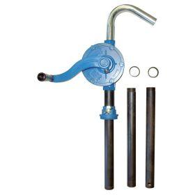 Pompe rotative en aluminium pour diesel, huiles jusqu'à SAE 90, fioul, pétrole, antigel non dilué, etc.