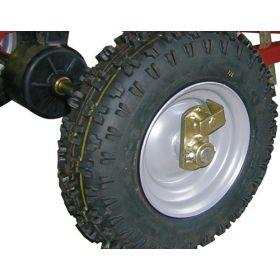 Épandeur trainé ACIER SW130 avec Trémie en polyéthylène 130 litres