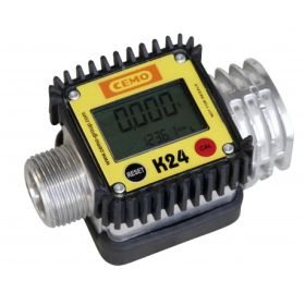 Digitaler Durchflusszähler K24 Aluminium