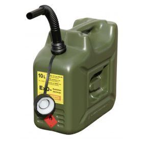 Bidon d'essence avec insert anti-explosion