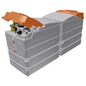 Pack supplémentaire pour l'installation longitudinale de 2 réservoirs diesel CUBE de 2500 litres