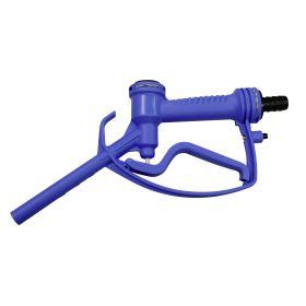 Handzapfventil aus Kunststoff mit Hebelarretierung, geeignet für AdBlue®