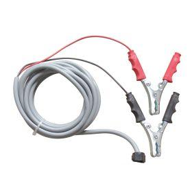 Anschlusskabel 4 m mit Polzangen zu Elektropumpe Cematic Duo, 24/12 V, 420 W