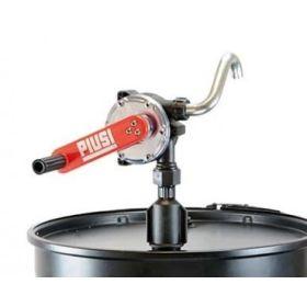Pompe rotative avec sortie coudée DN 25 pour diesel, lubrifiants jusqu'à SAE 90