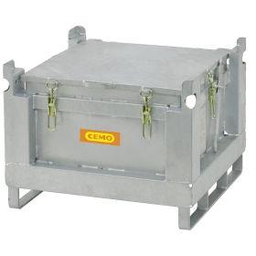 Akku-Stahlsammelbehälter zur sicheren Verwahrung von defekten Akkus