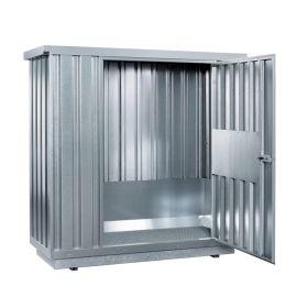 Sicherheits-Raumcontainer mit Belüftung zur Lagerung brennbarer Stoffe in diversen Ausführungen auf Anfrage