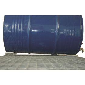 Accessoire pour rayonnage de type 360 + 540 - Réhausse vide-fût totale avec butée arrière (par lot de 3)