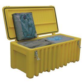 Grand coffre de sécurité Cemsorb universel en coffret PE 250 l