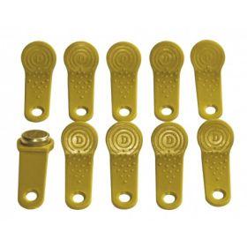 Schlüssel für Benutzer 10 Stück, gelb
