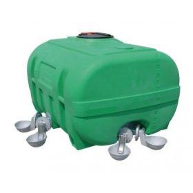 PE-Weidefässer, kofferförmig