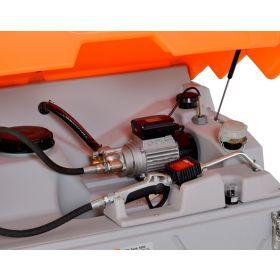 CUBE-Schmierstofftank Indoor Basic mit Zulassung für Schweiz