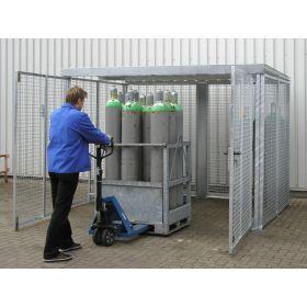 Conteneur pour bouteilles de gaz, type GFC-M en différents modèles