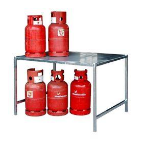 Etagère pour bouteilles de gaz pour conteneur à bouteilles de gaz type GFC-M