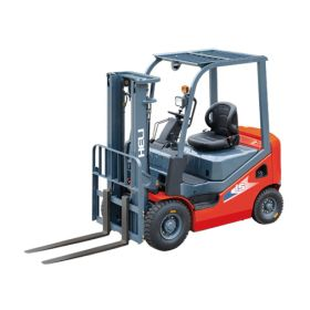 Chariot élévateur HELI à 4 roues, diesel, charge utile 1500 kg