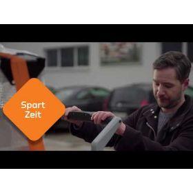 Mobiler Hubtisch XETTO® aus Edelstahl