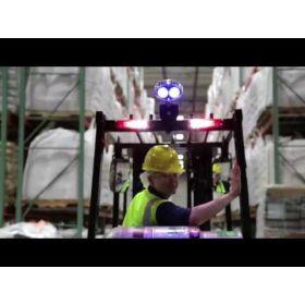 Témoin lumineux LED bleu à point 12-48V