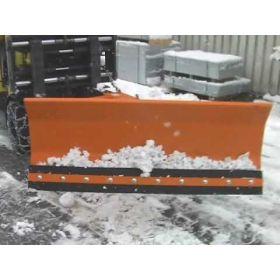 Lames chasse-neige avec bande racleuse en caoutchouc
