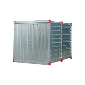 Lagercontainer verzinkt, zusammenlegbar, mit Auffangwanne