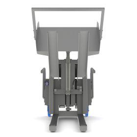 Standardkipper aus Inox mit Hebe-Kippsystem für eine höhere Ausschüttung