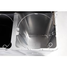 Abfallbehälter 3 Kammern innen