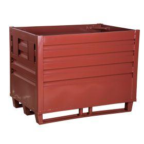 Materialbox mit Ablasshahn - öldicht