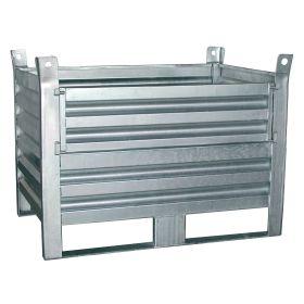 Materialbox mit abklappbaren Seitenteil - MBK1006