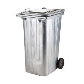 Corbeille / container métallique en deux tailles