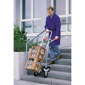 Treppenkarre aus Aluminium, Tragfähigkeit 150 kg