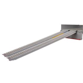Rampes en aluminium 5500 mm, avec bord, en deux largeurs différentes