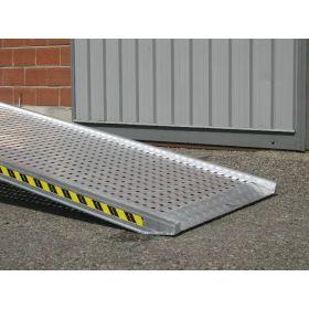 Einzelverladerampe 3500 mm mit geschlossenem Boden in verschiedenen Ausführungen
