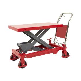 Hubtischwagen aus Stahl - Tragkraft bis zu 750 kg