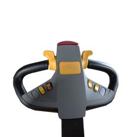 Schubmast-Deichselstapler mit Seitenschub