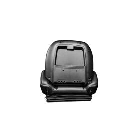 Universeller gefederter Staplersitz mit Sitzkontaktschalter und Gurt, 500 x 590 x 620 mm