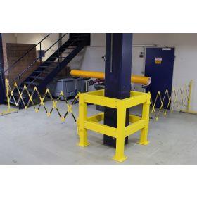 Säulenschutz aus Stahl in zwei Grössen