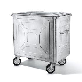 Abfallcontainer mit Vierkantschloss
