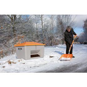 GFK-Schneeschaufel mit Alu-Kante