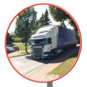 Verkehrsspiegel TM-I mit roter Umrandung