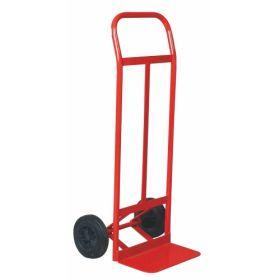 Stahl-Transportkarren mit Vollgummibereifung, Tragkraft bis zu 250 kg