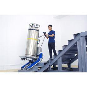 Treppensteiger mit Raupenantrieb für Lasten bis zu 400 kg | automatischer Niveauausgleich
