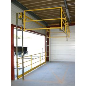 Barrière écluse de sécurité / sas à palettes, Type C
