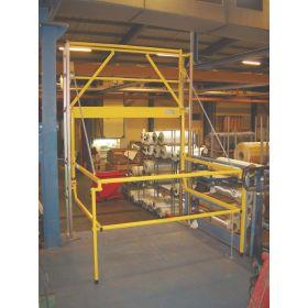 Sicherheits-Schleusengeländer / Palettenschleuse, Typ C4 - individuelle Anfertigung