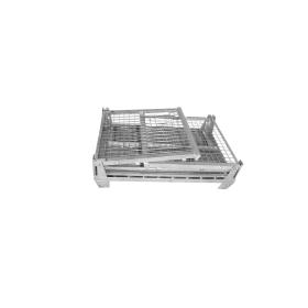 Gitterbox zusammenlegbar mit abklappbaren Seitenteil - GB1000