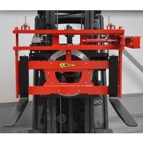 Retourneur Rotator 360° - rotation à gauche et à droite, visibilité optimale