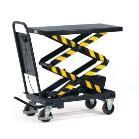 Doppelscheren-Hubtisch, Tragkraft bis 500 kg, Höhe Tisch max. 1585 mm