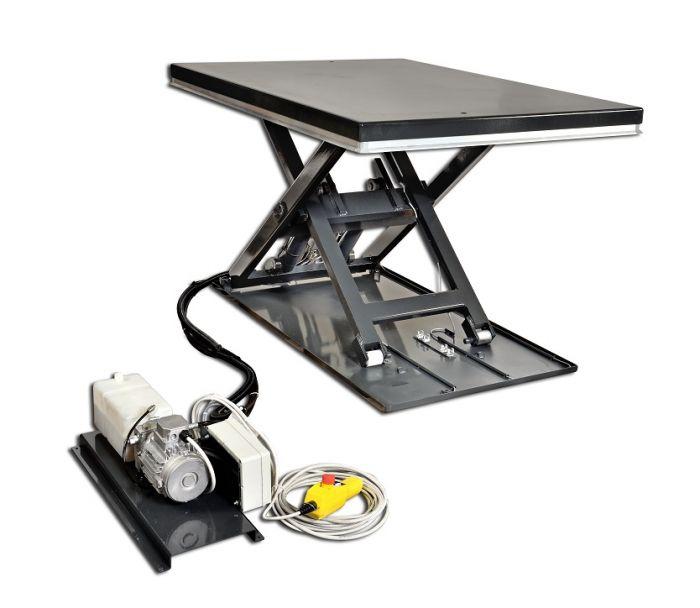 Hubtisch, Tragkraft 1000 kg, Hub 780 mm