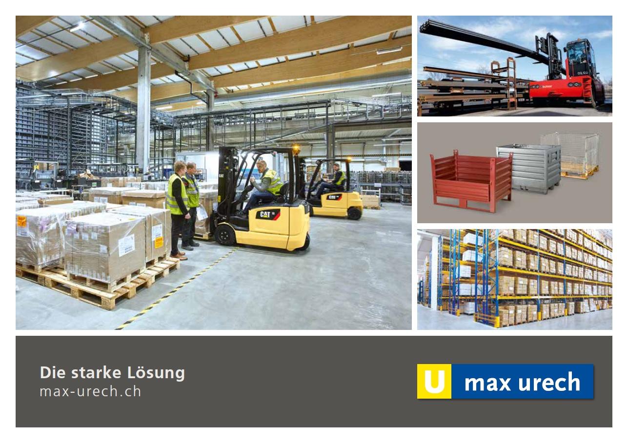 Produktekatalog Max Urech AG