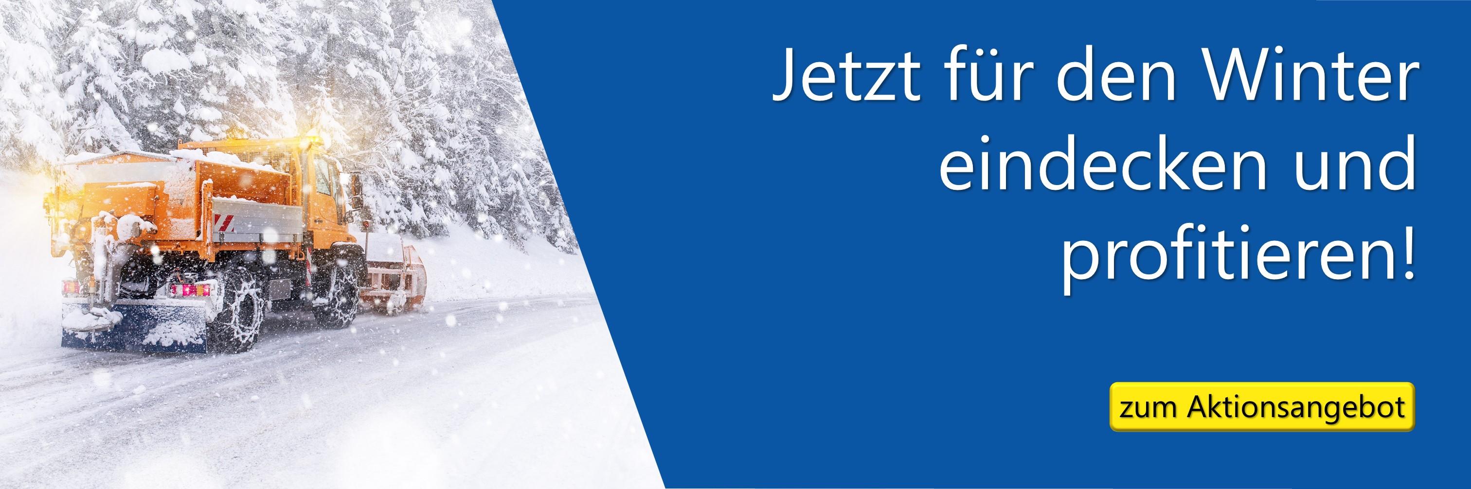 Winteraktion CEMO Streuwagen, Streugutbehälter