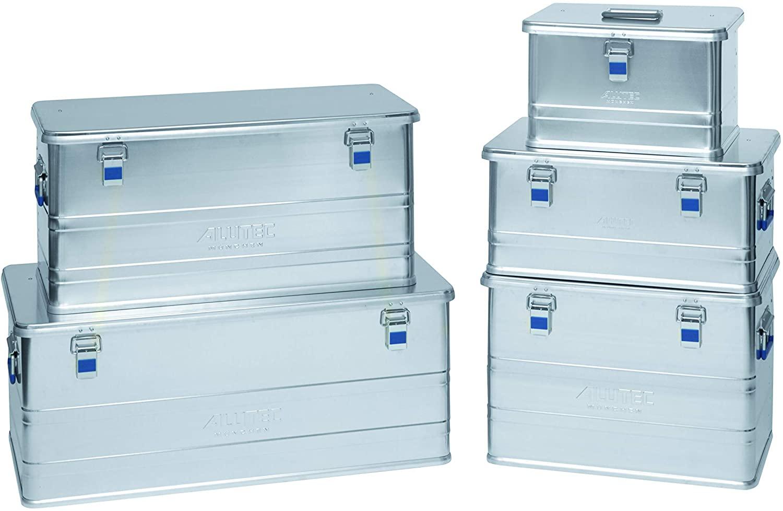 Werkzeugboxen aus Aluminium in diversen Grössen.