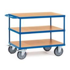 Tischwagen, 2-3 Ladeflächen, Plattformen in diversen Grössen
